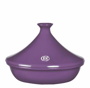 Тажин керамический Emile Henry 2л, 27 см, цвет баклажан (лимитированная серия)