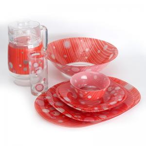 Столовый Сервиз Luminarc Carine Bubbling 19 предметов +6 стаканов на 6 персон