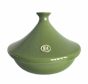 Тажин 3 литра, 32 см Emile Henry керамический, цвет: базилик