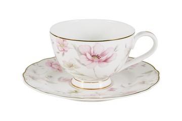 Чашка с блюдцем Розовый танец в инд.упаковке
