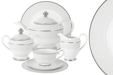 Чайный сервиз Эдельвейс 42 предмета на 12 персон