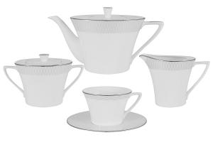 Чайный сервиз из 17 предметов на 6 персон Бриз