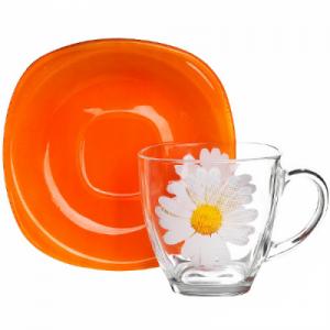 Чайный сервиз Luminarc Paquerette Melon Carine 6 персон