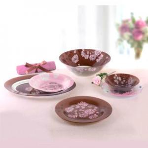 Столовый сервиз LUMINARC Tamako Pink Simply 19 предметов на 6 персон