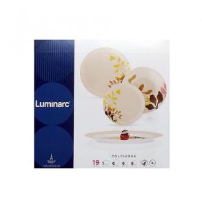 Столовый Сервиз Luminarc Simply Colchique 19 предметов на 6 персон