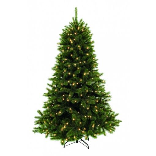 ЕЛЬ Лесная красавица зеленая Triumph Tree 185 СМ 224 ЛАМПЫ