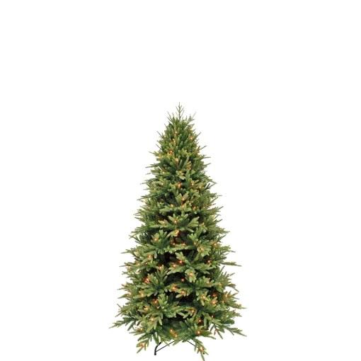 Ель Королевская стройная 185 см зеленая с лампами Triumph Tree