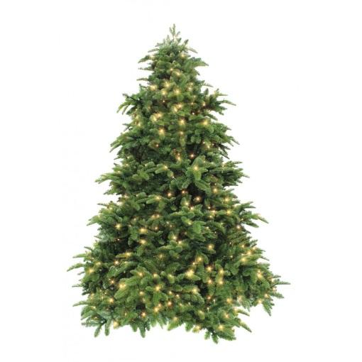 Ель Нормандия РЕ 215 см 400 ламп темно-зеленая Triumph Tree