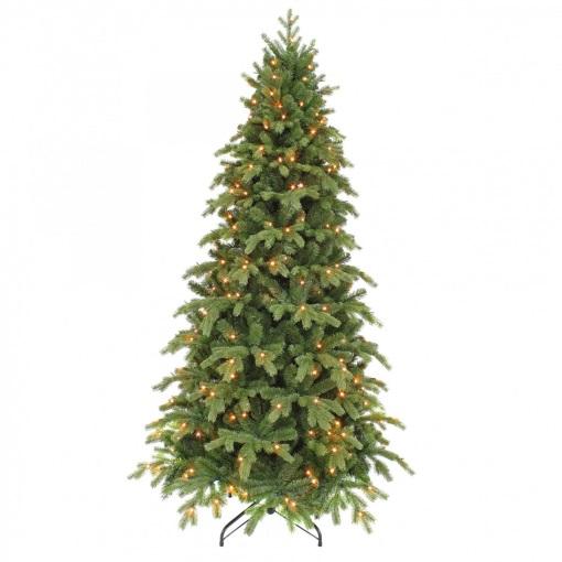 Ель Шервуд премиум стройная 185 см с лампами Triumph Tree
