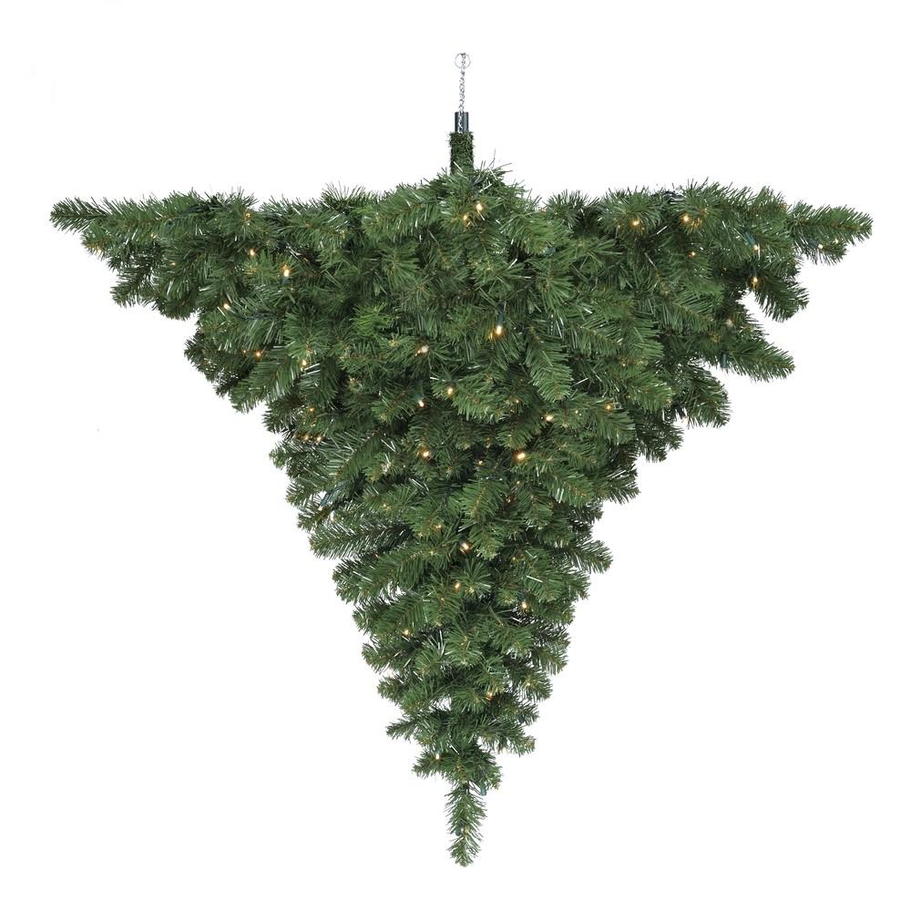 Декор люстра праздничная диам. 89 см с лампами зеленая Black Box